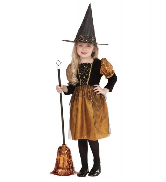 c6c72b42f Malá zlatá čarodějnice - Halloween Kostýmy a Masky